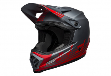 Casque Intégral Bell Full-9 Fusion Mips Gris / Rouge 2021