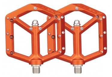 Paires de Pédales Plates Spank Spike Reboot Orange
