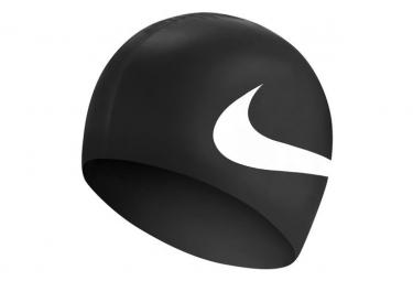Bonnet de bain nike swim slogan cap noir