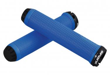 Pair of Grip Spank Spike Blue