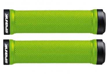Pair of Spank Spoon Grips Green