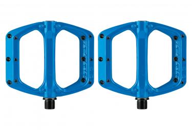 Paire de Pédales Plates Spank Spoon DC Blue