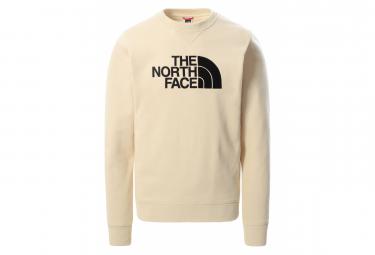 The North Face Drew Peak Crew Sudadera Beige Xl