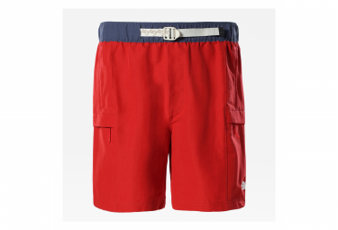 Short The North Face Class V Belted Rouge / Bleu