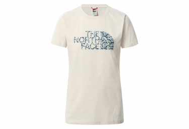 T-Shirt Manches Courtes Femme The North Face Easy Blanc