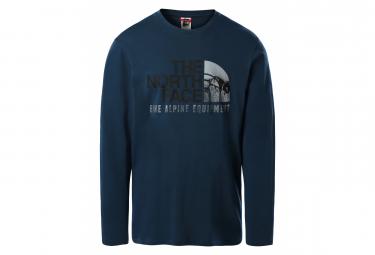 T-shirt Manches Longues The North Face Image Ideals Bleu
