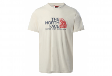 T-Shirt Manches Courtes The North Face Rust 2 Tee Blanc