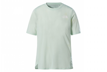 T-Shirt Femme Manches Courtes The North Face Up With The Sun Misty Jade Vert Clair
