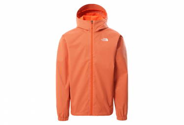 The North Face Quest Jacket Chaqueta Impermeable Con Capucha Naranja M