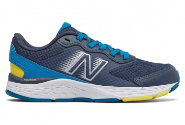 Chaussures Enfant New Balance 680 Bleu / Gris