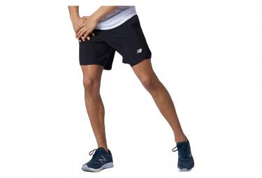New Balance Fast Flight 7 2 In 1 Shorts Negro Hombre Xl