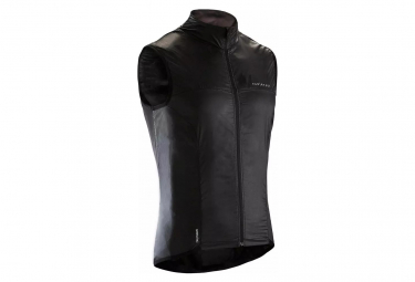 Veste Coupe-Vent Déperlant Sans Manches Van Rysel Ultra-Light Noir