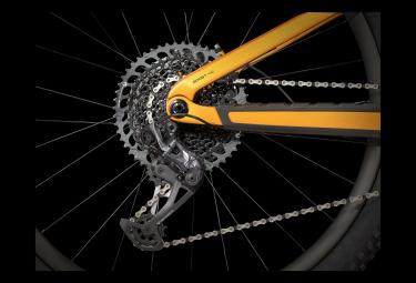 Trek Fuel EX 9.9 29 '' Vollgefedertes Mountainbike Sram X01 Eagle 12V Lithiumgrau / Werksorange 2021