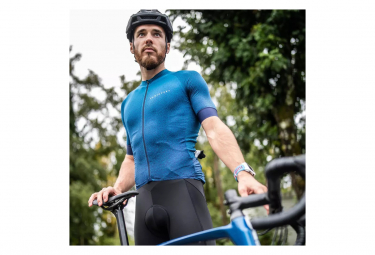 Maillot Van Rysel Endurance Racer manga corta azul