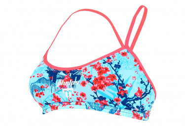 Michael Phelps Sakura Women's Two-Piece Swimsuit Top Blue / Black