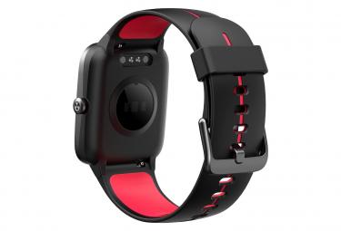 Bracelet d'activité WEEPLUG GPS SMARTFIT Noir/Rouge