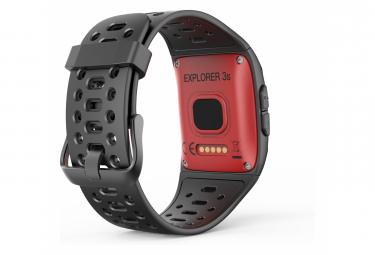 Activity tracker WeePlug explorer 3s - Rouge - Multisports (17 disciplines) - GPS - Waterproof IP68 50m - Cardiofréquencemètre