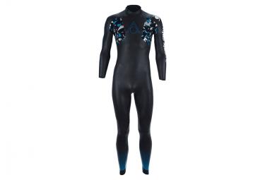 Image of Combinaison neoprene aqua sphere aqua skin full suit v3 noir bleu l