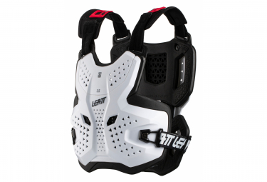 Chaqueta Protectora Leatt Chest Protector 3 5 Blanco   Negro