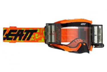 Leatt Velocity 5 5 Mascarilla Rolloff Naranja Fluo   Pantalla Transparente 83