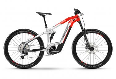 MTB Elettrica Full Suspension Haibike FullSeven 9 Shimano Deore / SLX 12S 625 Wh 27.5'' Plus Grigio Rosso 2021