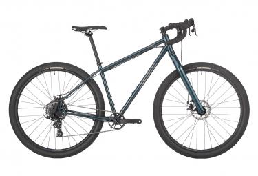 Image of Gravel bike salsa fargo sram apex 1 11v 29 bleu turquoise fonce 2021 l 180 191 cm