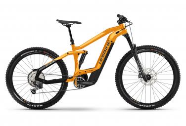 MTB Elettrica Full Suspension AllMtn 4 Haibike Shimano SLX 12S 625 Wh 29'' / 27.5'' Plus Orange 2021