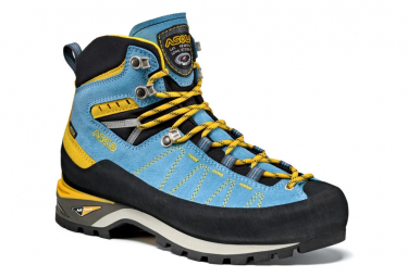 Bergsteiger Stiefel Asolo Piz Gv ML Blau Gelb Frauen