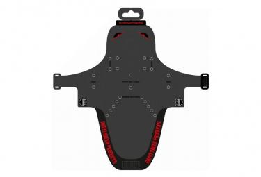 Pvr Guardabarros Enduroguard Negro Rojo M
