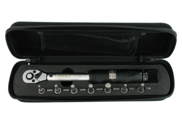 VAR 3 to 14Nm Torque Wrench with tips
