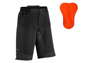 Shorts pitillo Rockrider ST 500 negro