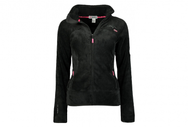 Veste polaire noir fille Geographical Norway Upaline