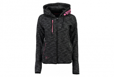 Veste noire fille Geographical Norway Galipette