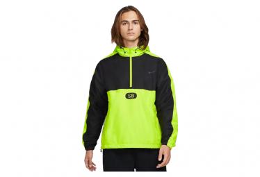 Nike Sb Anorak Amarillo Neon   Negro S