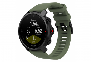 Polar Grit X Limited Edition GPS Watch Black Green