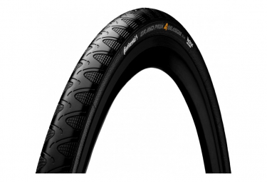 Cubierta Continental Grand Prix 4 Season 700 Mm Tubetype Soft Duraskin Negro 32 Mm