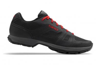 Zapatillas Mtb Giro Gauge Negro   Rojo 42