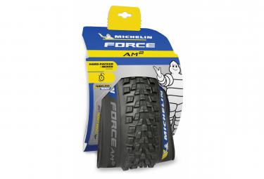 Pneu VTT Michelin Force AM2 Competition Line 27.5'' Tubeless Ready Souple Gravity Shield GUM-X E-Bike Ready