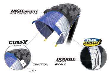 Pneu VTT Michelin Force AM2 Competition Line 29'' Tubeless Ready Souple Gravity Shield GUM-X E-Bike Ready