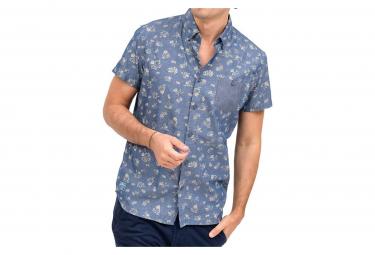 Chemise bleue homme Oxbow Cedeni