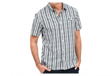 Chemise noire/blanche homme Oxbow Cuadro