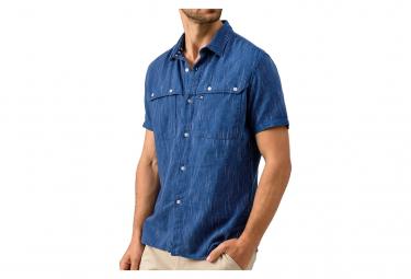 Chemise bleu marine homme Oxbow Carayo