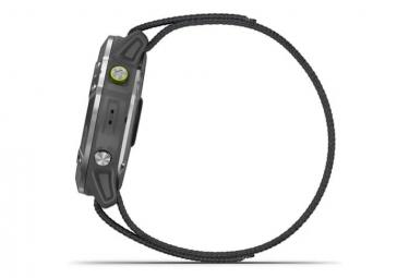 Reloj GPS Garmin Enduro Steel con correa de nailon UltraFit Gris