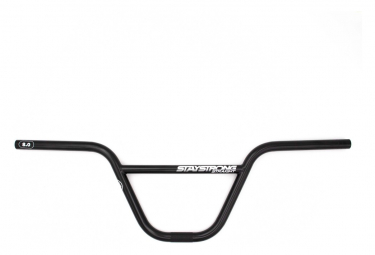 Guidon BMX Stay Strong Straight Race 3° Noir
