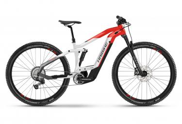 MTB Elettrica Full Suspension Haibike FullNine 9 Shimano Deore / SLX 12S 625 Wh 29'' Grigio Rosso 2021