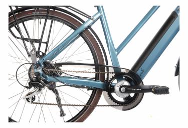 Vélo de Ville Électrique Bicyklet Camille Shimano Acera/Altus 8V 504 Wh 700 mm Bleu 2021