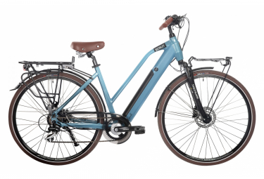 Bicyklet Camille Womens E-Bike  Bleu