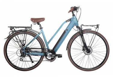 Fahrrad Camille Electric City Fahrrad Shimano Acera / Altus 8S 504 Wh 700 mm Blau 2021