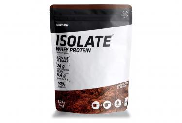 Bebida proteica de chocolate con aislamiento de suero domyos 2 2 kg