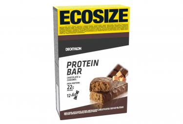 Barres Protéinées Domyos Protein 22g Chocolat Caramel 60g